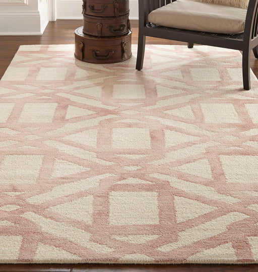 Feizy Rugs Lorrain Blush 8'0'' x 11'0'' Rectangular Area Rug