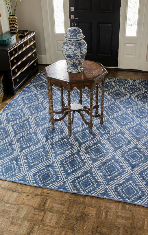 5x8 Navy Area Rug By Momeni