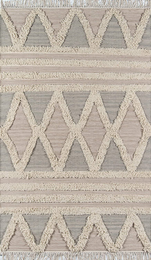 Size 5x8 Color: Beige Harper Collection Area Rug By Momeni