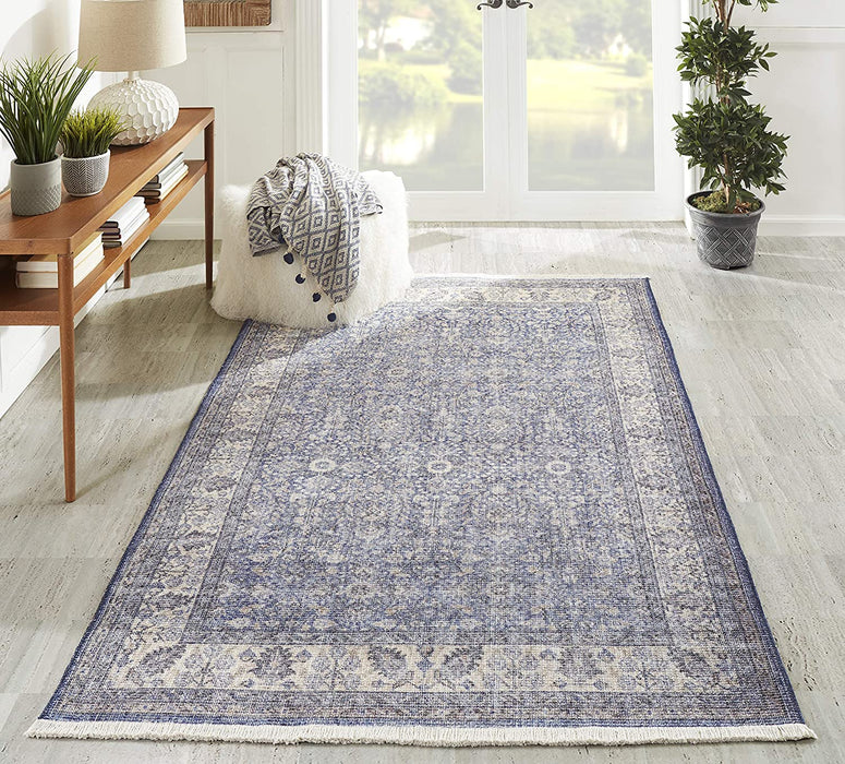 5x8 Color Blue  Momeni Helena Traditional Area Rug