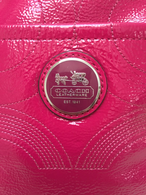 Authentic Coach Embossed Tote/Handbag - Like New!