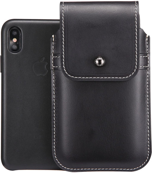 Apple iPhone X/Xs iPhone Case Genuine Leather Swivel Belt Clip Holster