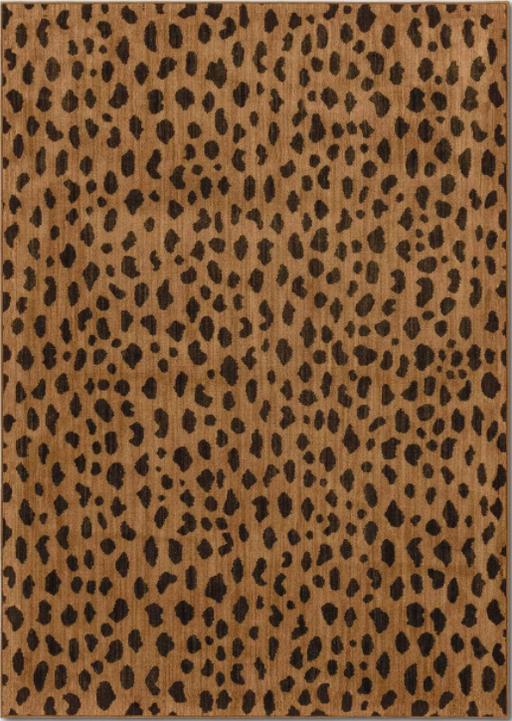 Size 7'x10' Color Copper Leopard Spot Woven Rug - Opalhouse™
