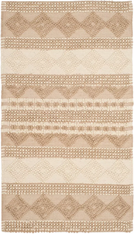 4'x6' Color Beige/Ivory Bertram Tufted Rug - Safavieh