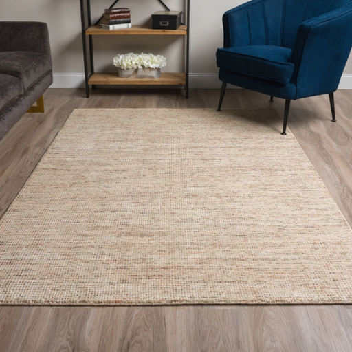 Size 9'X13' Color Sand Hayward Loomed Rug - By Addison Rugs