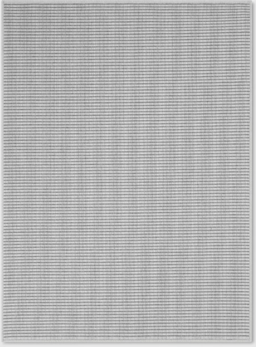 Size 5'X7' Stripe Woven Area Rug Gray - Made By Design™