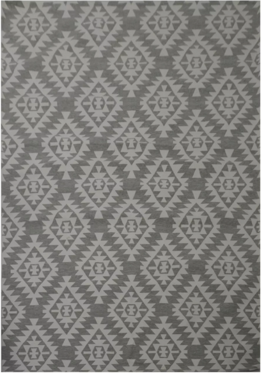 Size 9'x12' Color Grey Cream/Ivory Jacquard Area Rug - Threshold™