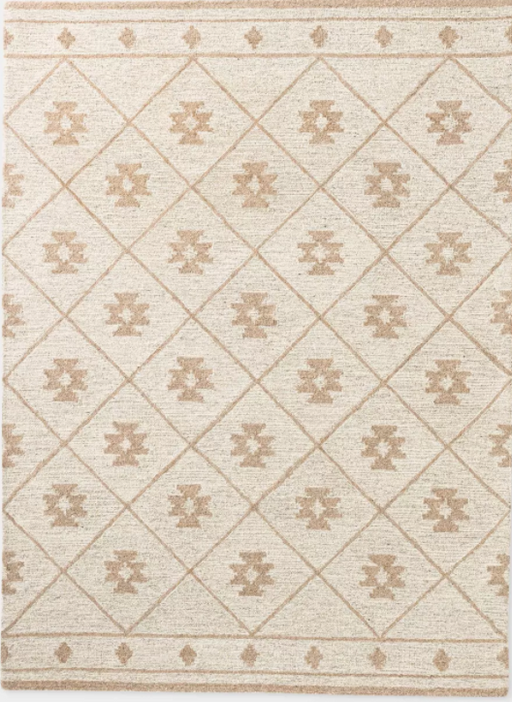 Size 5'x7' Tremonton Hand Tufted Wool Area Rug Cream - Threshold™ designed with Studio McGee