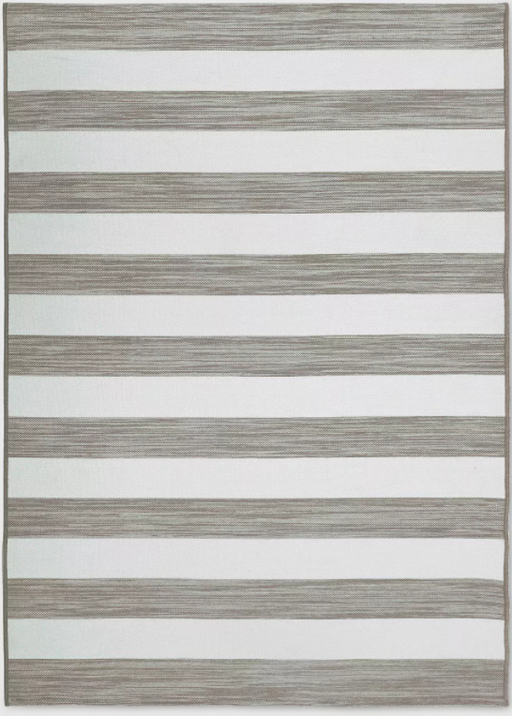 Size 5'x7' Color Tan Outdoor Rug Worn Stripe- Threshold™