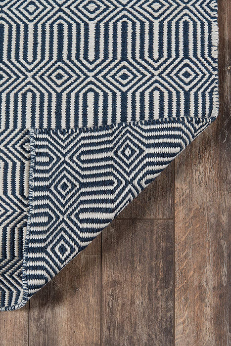 5x8 Color Navy Blue Erin Gates by Momeni Newton Holden Area Rug