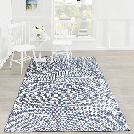 5x8 Color:Navy Erin Gates by Momeni Newton Davis Area Rug