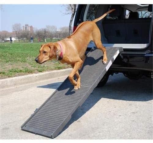 PetSTEP Original Folding Pet Ramp - Color:Graphite/Gray