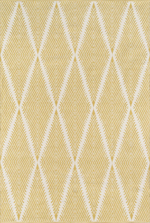 5x8 Color:Citron  Erin Gates by Momeni River Beacon Citron Hand Woven Indoor Outdoor Area Rug