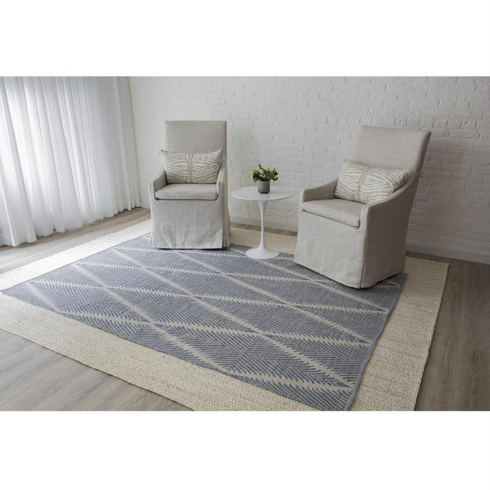 5x8 Denim Momeni River Area Rug