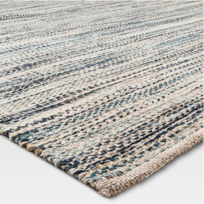 9x12 Color Indigo Woven Rug By - Threshold™