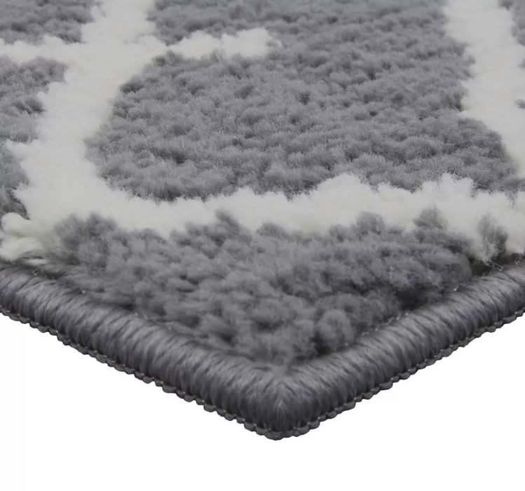 5'X7' Gray Kenya Fleece Tufted Rug - Project 62™
