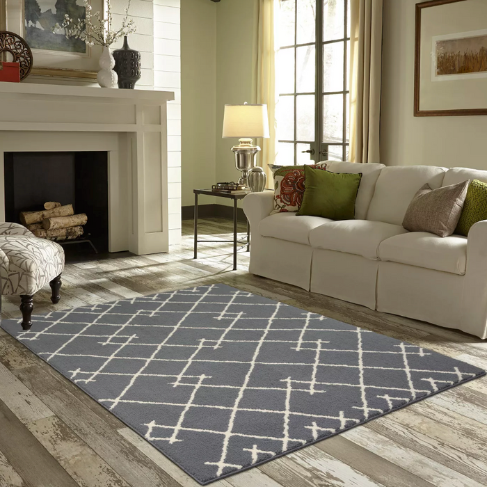 7'X10' Gray Kenya Fleece Tufted Rug By - Project 62™