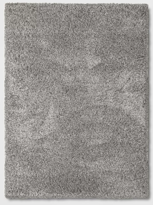 5'X7' Gray Eyelash Woven Shag Rug - Project 62™