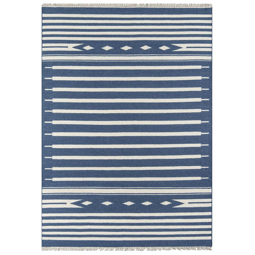 5x8 Denim Momeni Thompson Area Rug by Erin Gates by Momeni