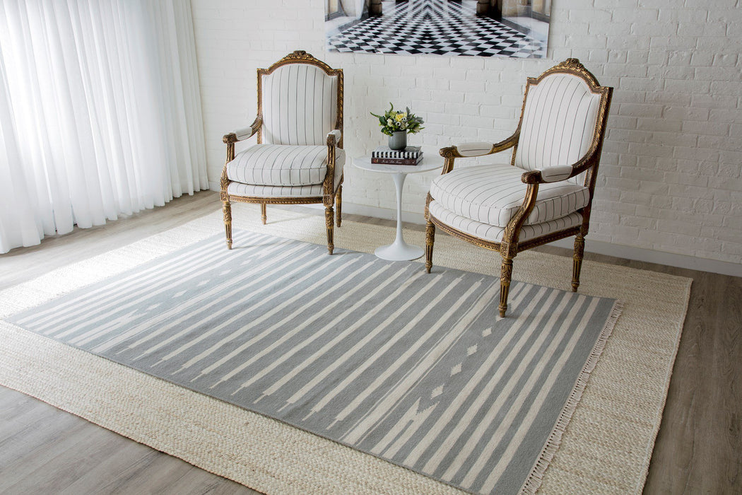 5x8 Color Grey Area Rug by Erin Gates Momeni Thompson Collection