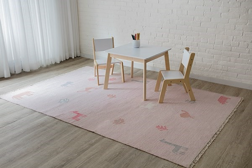 5x8 Color Pink PORTER AREA RUG by Erin Gates by Momeni
