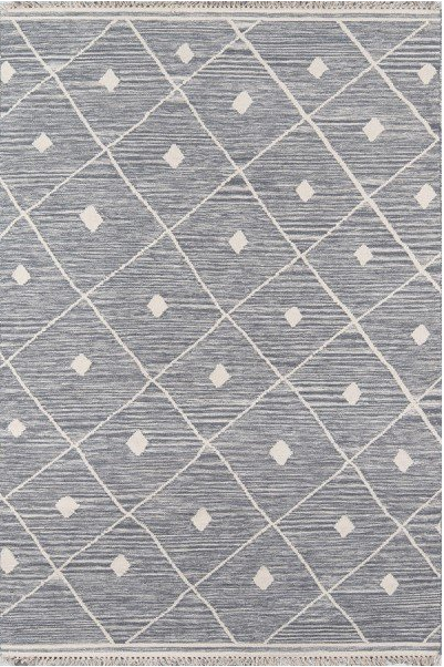 5x8 Color Grey AREA RUG by Erin Gates by Momeni