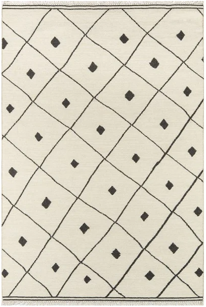 5x8 Color Ivory ERIN GATES - THOMPSON - APPLETON AREA RUG by Erin Gates by Momeni