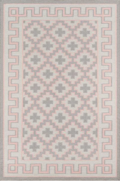 5x8 Color Pink THOMPSON - BROOKLINE AREA RUG by Erin Gates by Momeni