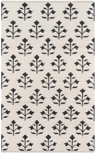 5x8 IVORY THOMPSON AREA RUG by Erin Gates by Momeni