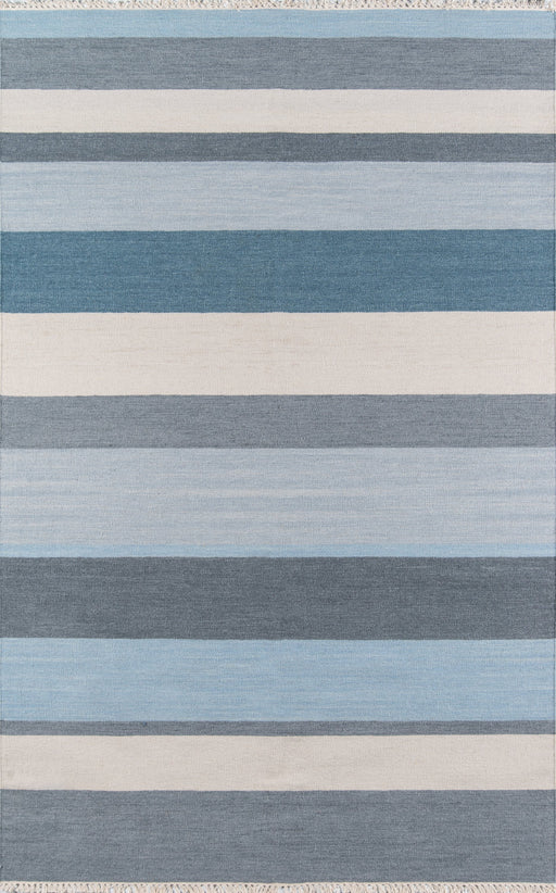 5x8 Color Blue Thompson Collection Area Rug By Momeni