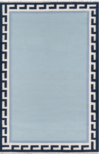 5x8 Color Blue THOMPSON  AREA RUG by Erin Gates by Momeni