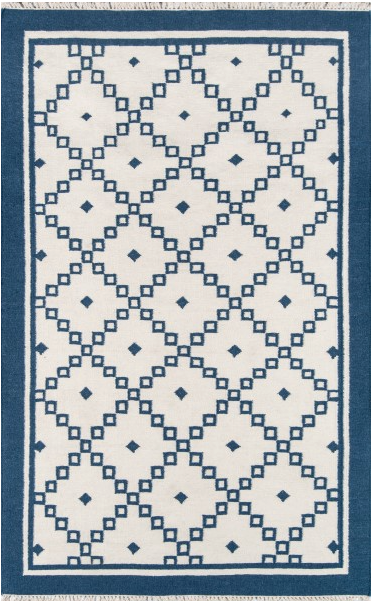 5x8 Color Navy THOMPSON AREA RUG by Erin Gates by Momeni