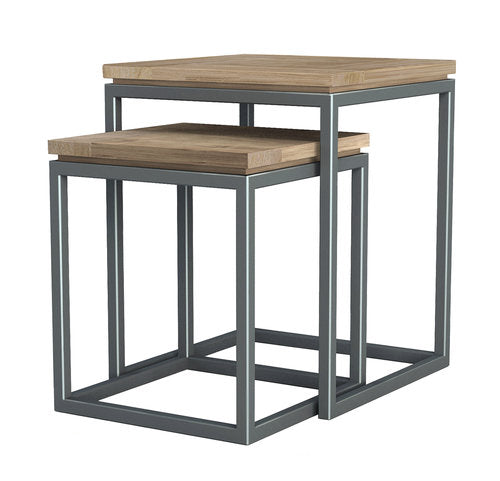 NESTING TABLES, SET OF 2
