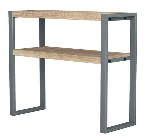 Industrial Modern design Solid Teak and Iron Console Table / TV Stand