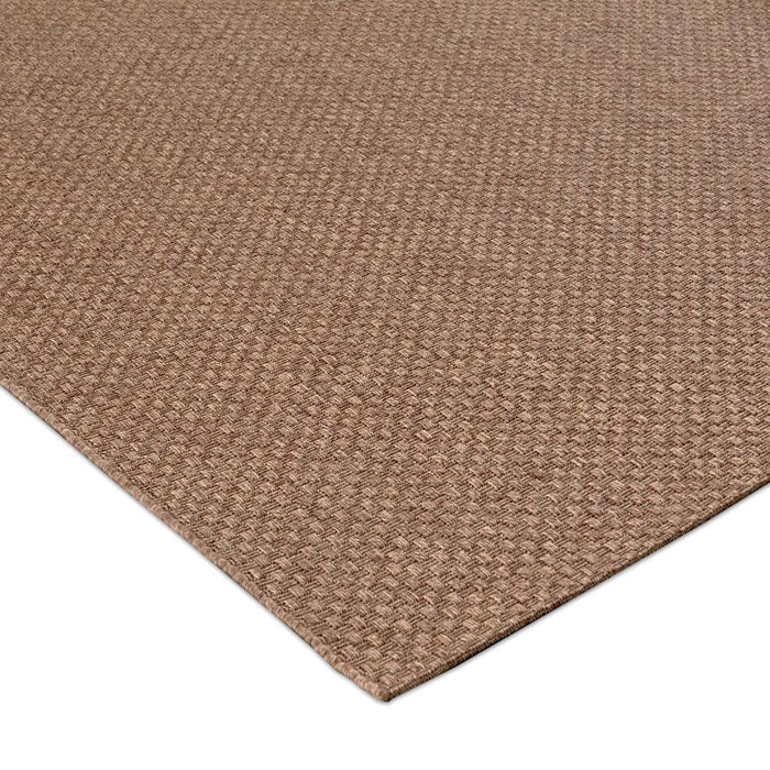 Home Decorators Collection Texture Brown 8 ft. x 10 ft. Indoor Area Rug