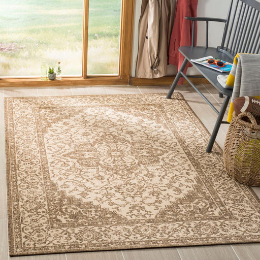 Safavieh Linden Cream/Beige 4 ft. x 6 ft. Area Rug