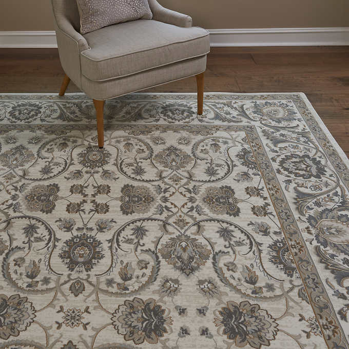 6'6X9'6 Thomasville Timeless Classic Rug Collection, Alden Ivory