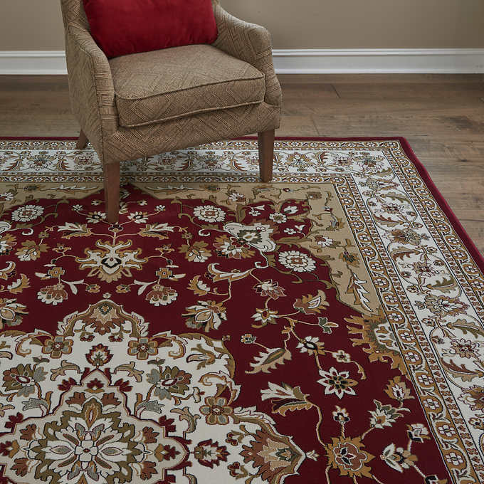 6x9 Thomasville Timeless Classic Rug Collection, Elgin Red
