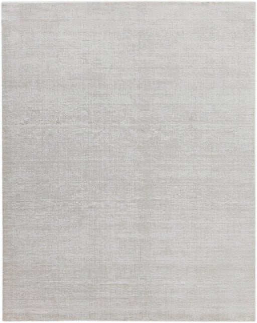 10' x 14' Exquisite Rugs Duo Hand Woven White - Beige Area Rug