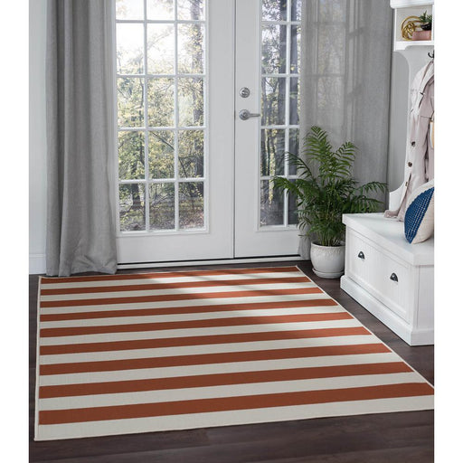 Garden City Terra 5 ft. x 7 ft. Transitional Area Rug