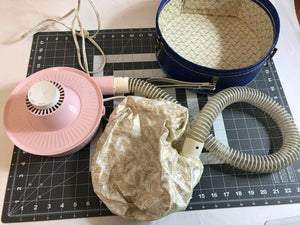 Vintage Portable Bonnet Hair Dryer Samson Dominion 1960's Model 1810
