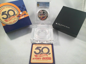 2018 Hot Wheels 50th Anniversary Proof  PCGS PR70DCAM Gold Shield  First Strike