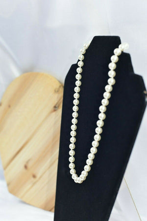 Beautiful pearl necklace 34.39g