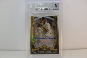 2019 Topps Tribute Iconic Perspectives Mint 9 Beckett Auto 10 Mariano Rivera 08/15