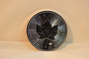 2017 1 oz Canadian Silver Maple Leaf Coin (BU)