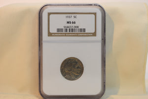 NGC 1887/6 (Seven Over Six) Nickel 3 Cent PF66