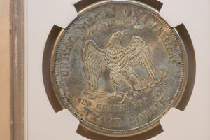1875 S Trade Dollar S Type 1 Rev T$1 MS 62 NGC 3704097-013 TOP POP 2 ONLY!