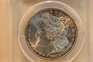 1883-O PCGS MS64 MORGAN SILVER DOLLAR CERT-31508934