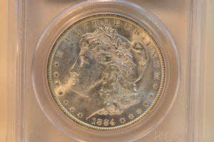 1884-O PCGS MS64 McClaren Collection II Cert # 19006863
