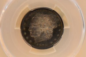 1879 25 Cent J-1590, Lustre PCGS Proof 65 Cameo (PR65CAM) + CAC, Patterns Series